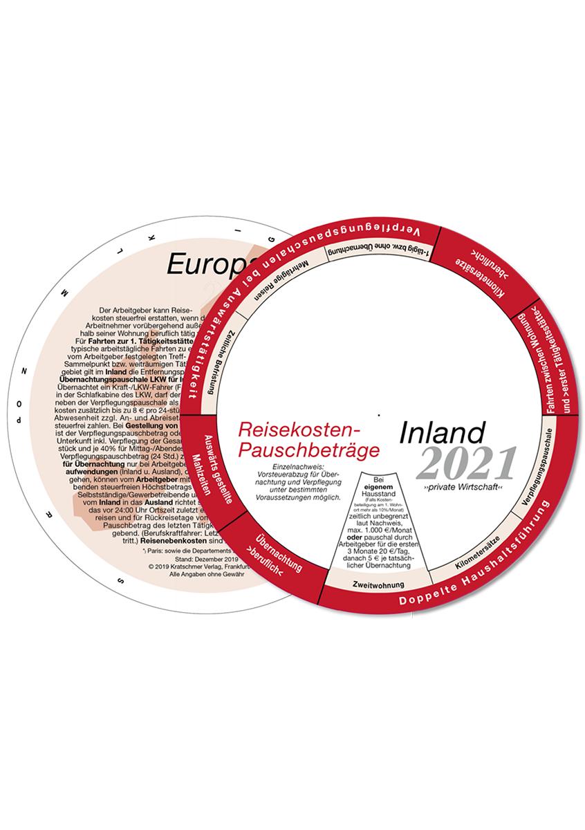 Drehscheibe, Drehscheibe, Reisekosten-Pauschbeträge Inland