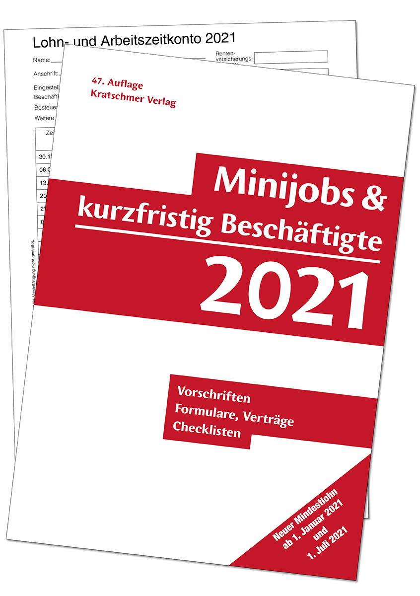 Minijob & kurzfristig Beschäftigte, Vorschriften, Formulare, Verträge, Checklisten